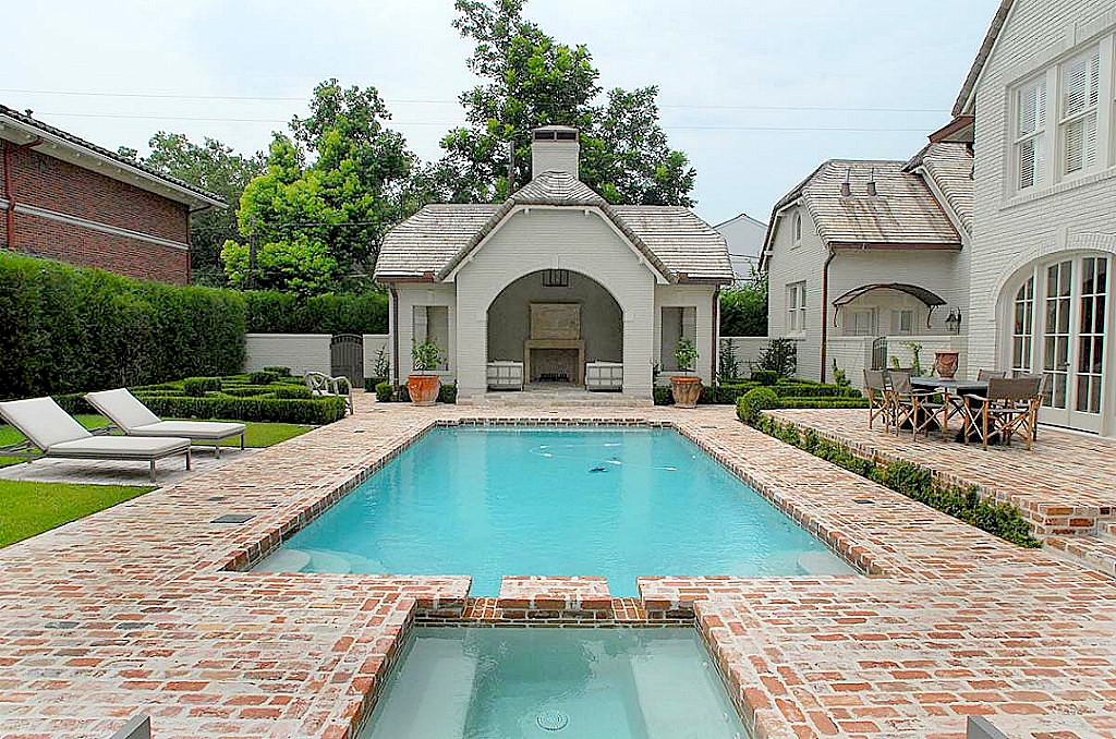 Love The Pool House But Not The Brick Pool Patio