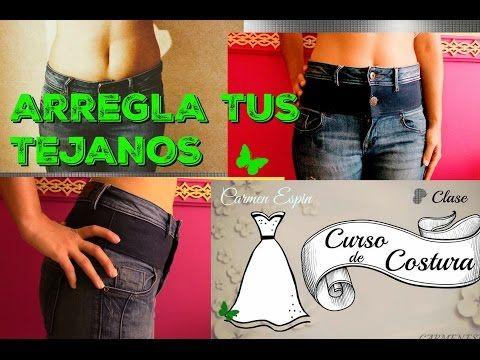 De Tiro Corto A Tiro Largo Diy Youtube Remendar Los Pantalones Vaqueros Como Arreglar Un Pantalon Jeans Y Botas