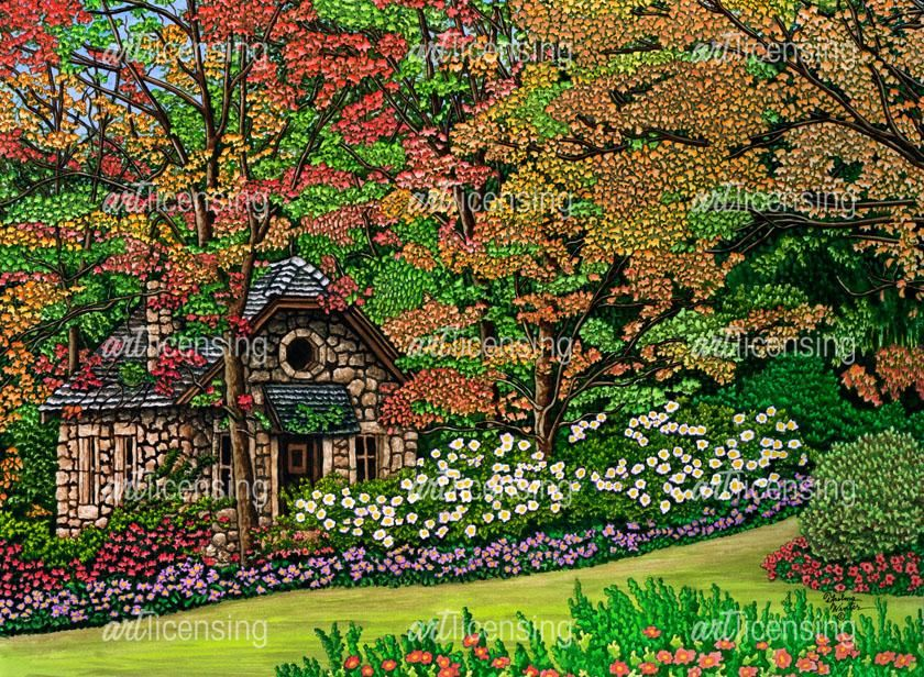 Stone Cottage, Canada | Art Licensing