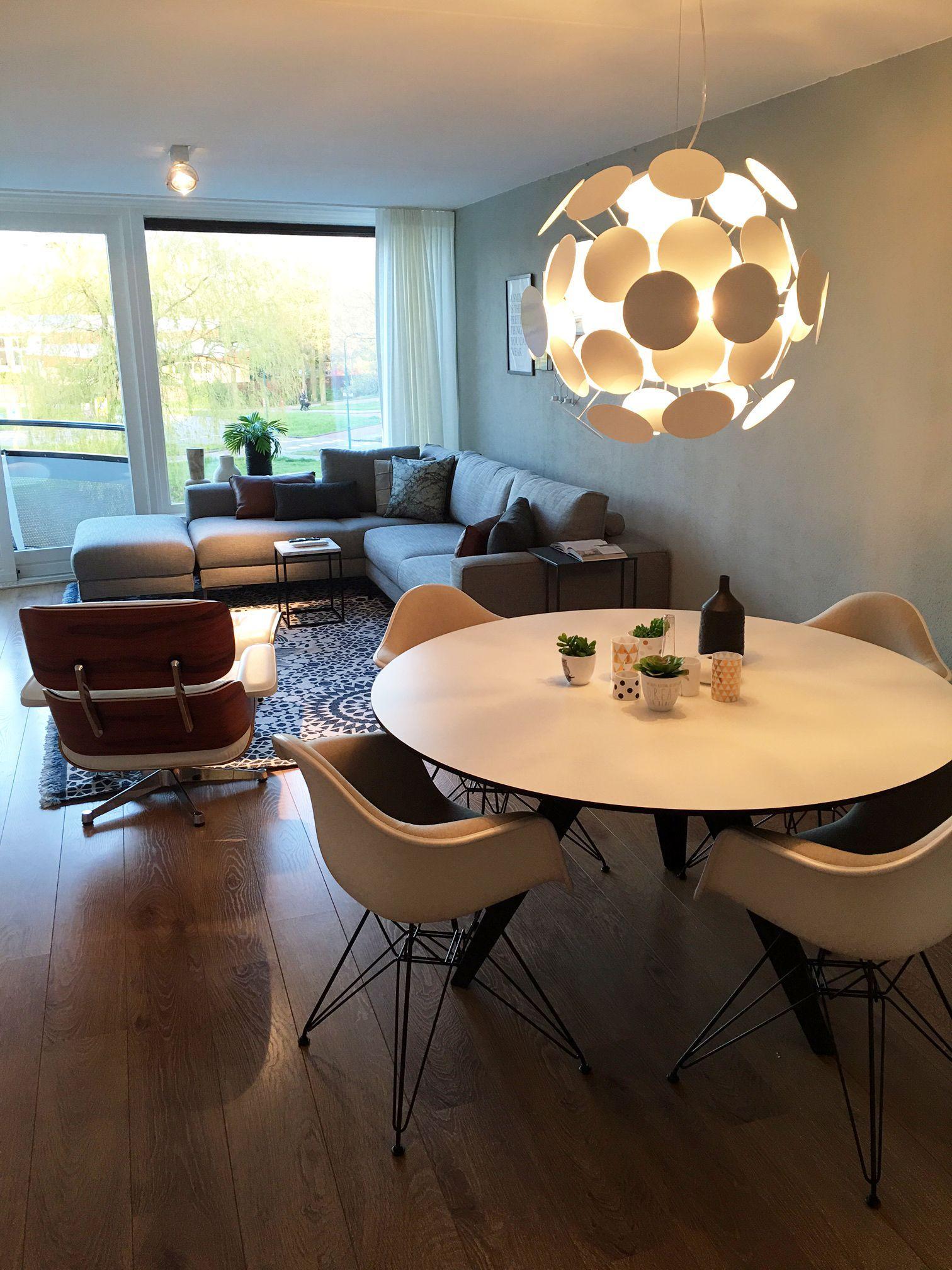 Belly Oval #eetkamer | Eetkamer met ronde tafel, Eetkamer
