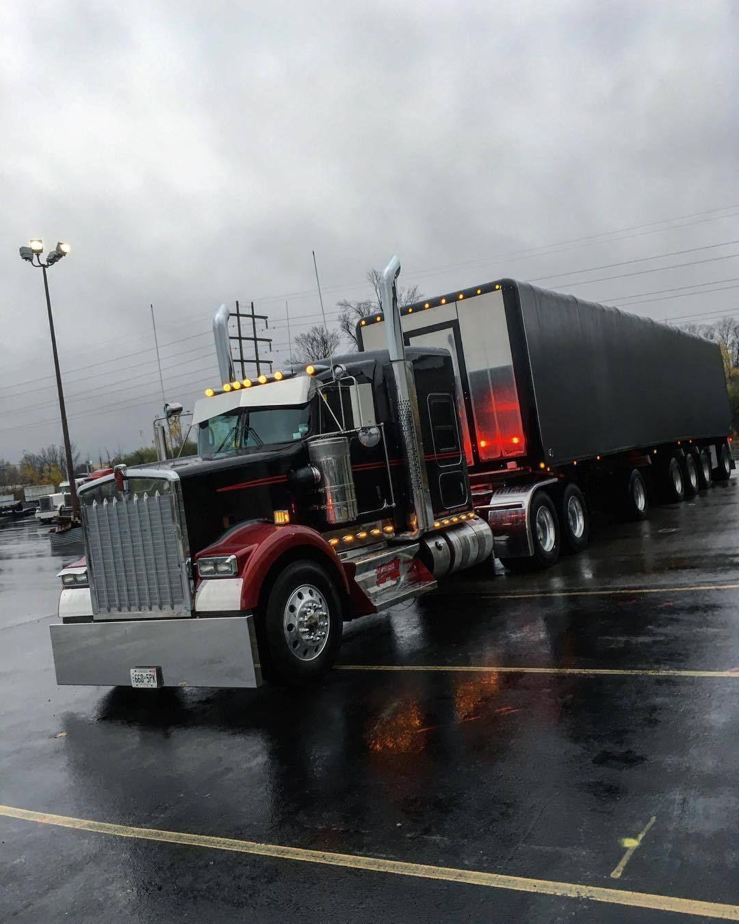 Kenworth custom w900l mich special trucks big trucks