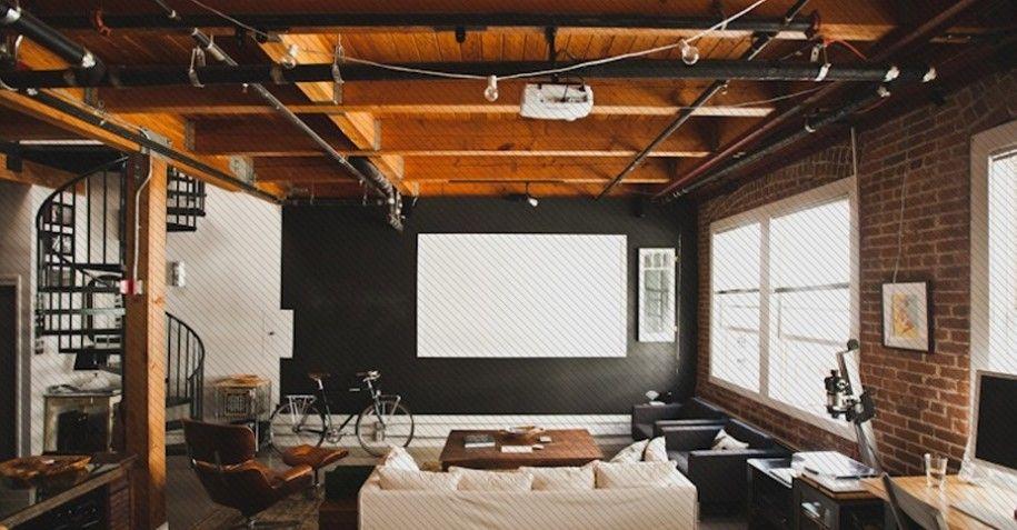 Spacious Apartment Design Ideas for Men Showcasing Masculine ...