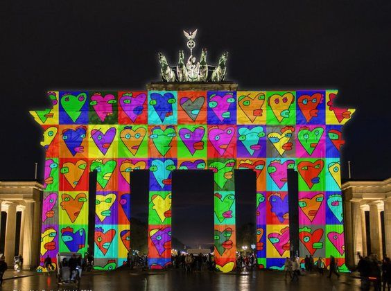 Festival Of Lights Das Sind Die Hohepunkte In Berlin 2015 Festival Lichter Berlin Berlin Bilder