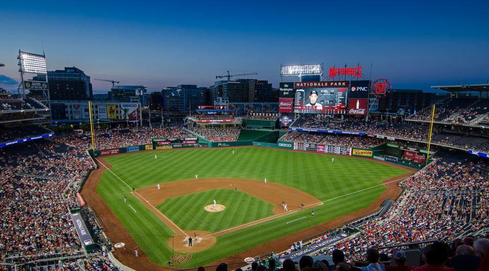 Nationals Park Washington Nationals Ballpark Ballparks Of Baseball Nationals Park Washington Nationals National Stadium