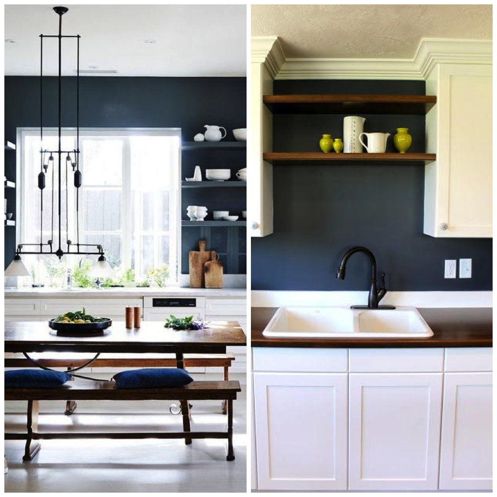4 ways to use navy blue in your kitchen kitchen decor styles small kitchen renovations blue on kitchen decor blue id=87785