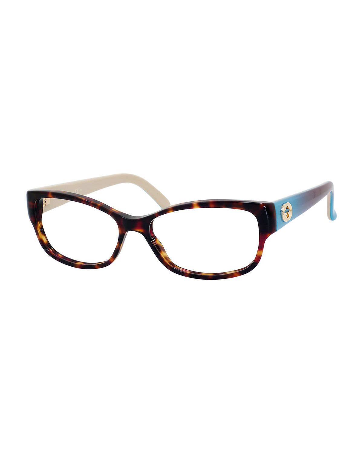 10d08846de0 Gucci Rectangle Fashion Glasses with Ombre Arms