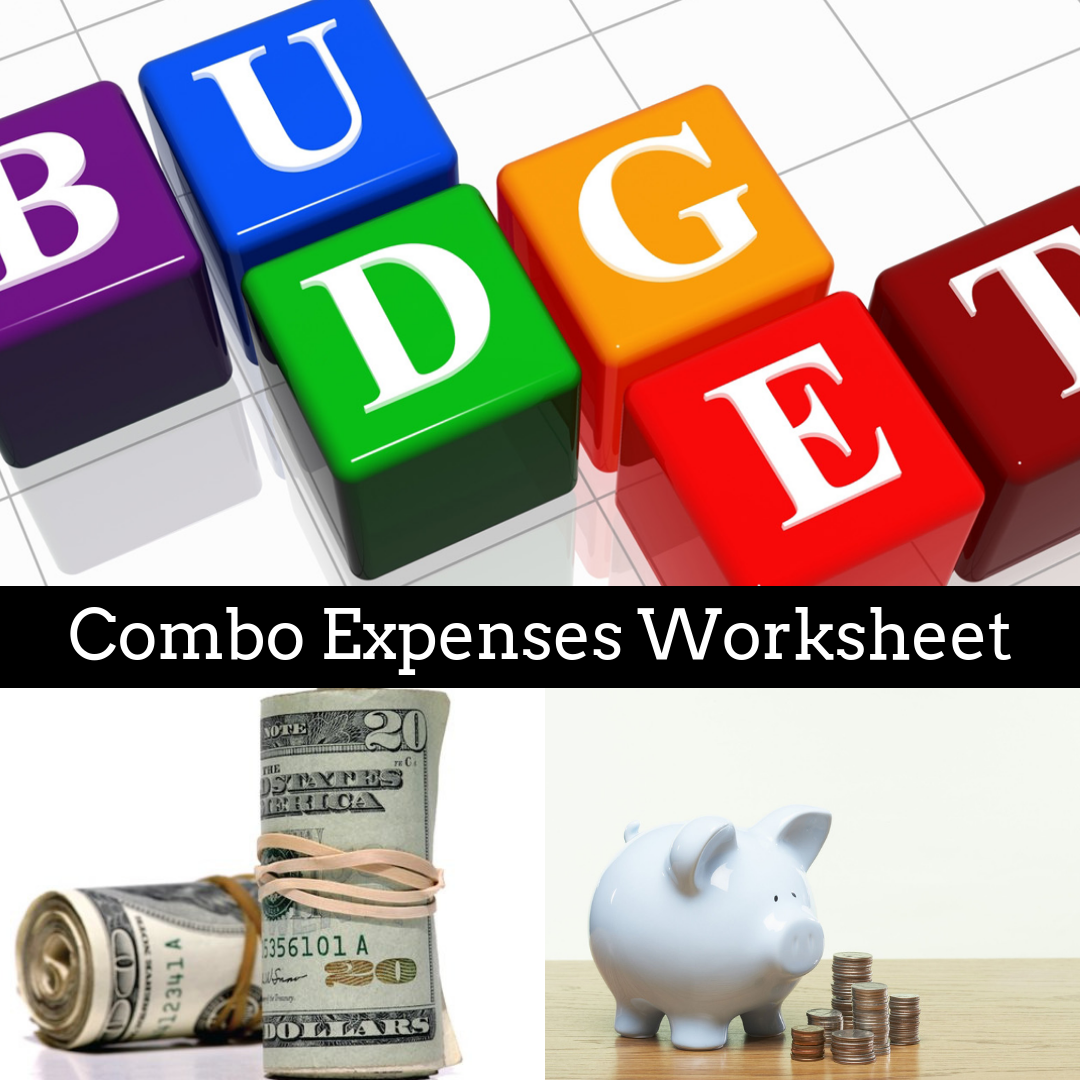 Combo Expenses Worksheet
