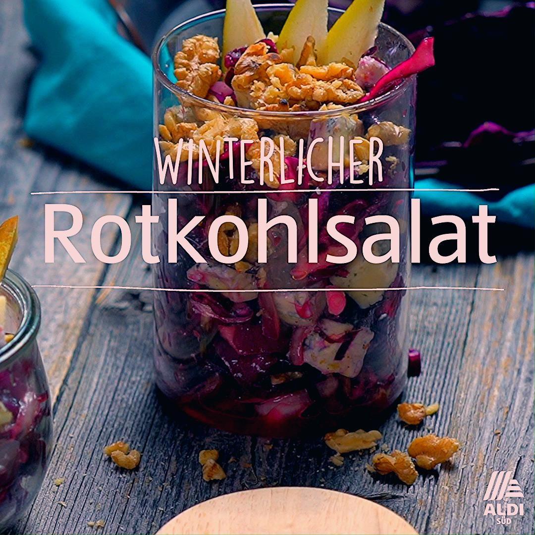 Photo of Winterlicher Rotkohlsalat