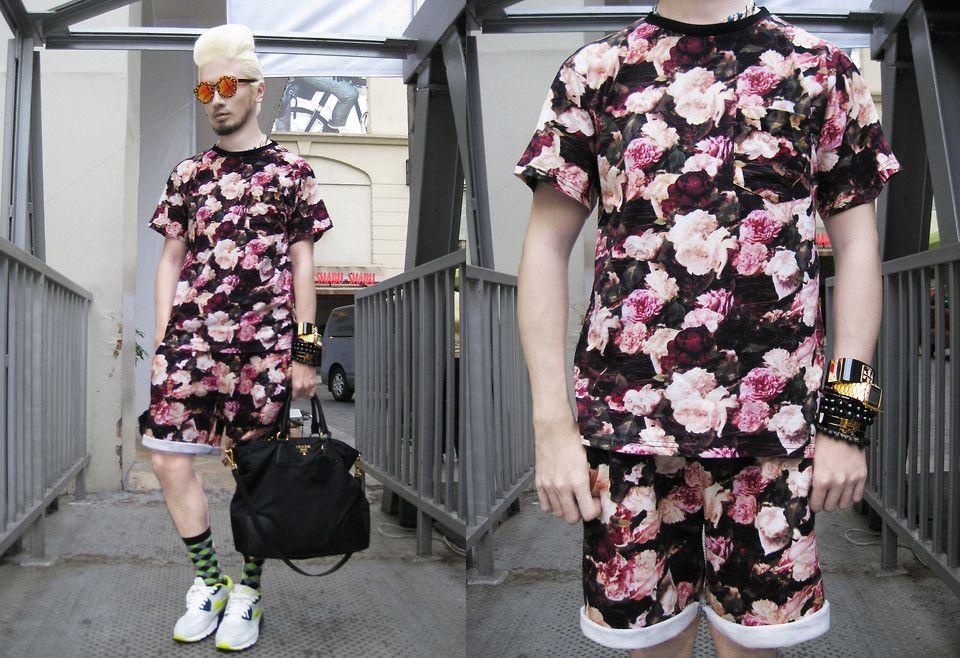 Supreme Floral Shirt and Shorts Set