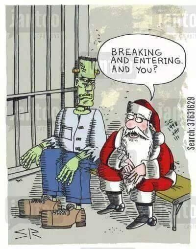 Breaking And Entering Christmas 2020 Breaking and Entering | Christmas humor, Christmas jokes