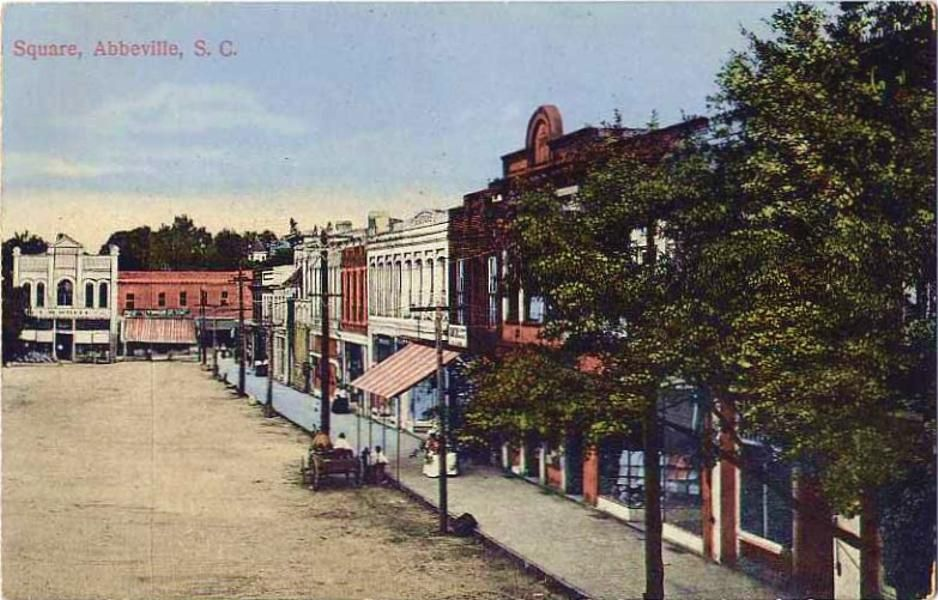Abbeville S C Nostalgia Abbeville Abbeville County Towns
