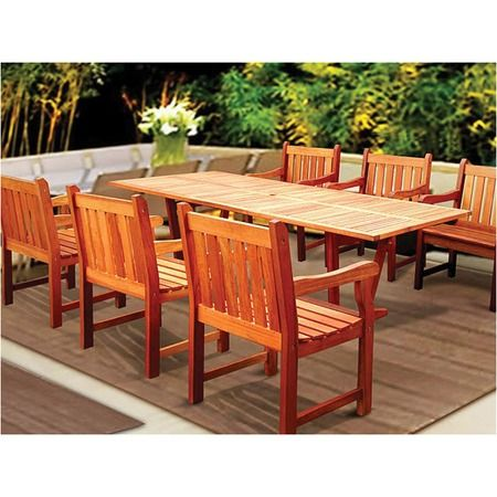 I Pinned This Vifah 7 Piece Airblade Dining Set From The Posh Patio Event  At Joss