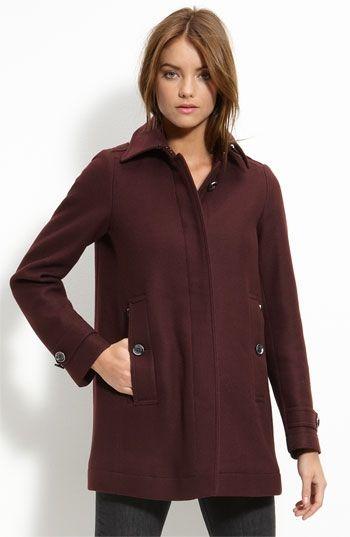 Burberry Brit Three Quarter Length Coat   Nordstrom - StyleSays