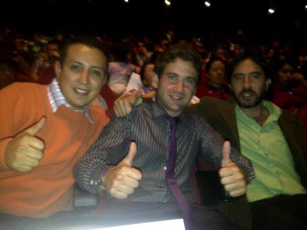 Con Jacobo y Jaques