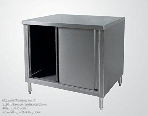 Kitchen Cabinets Ideas 30x36 Stainless Enclosed Work Table Storage Cabinet Want Additional Info Clic Steel Storage Cabinets Table Storage Storage Cabinet