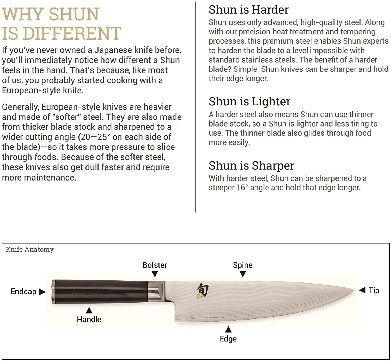 Shun Classic 6 Chef S Knife Classic Knife Kitchen Knives Paring Knife