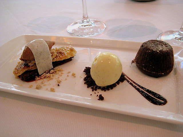 Jean-Georges NY- Chocolate Dessert