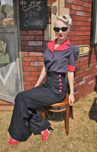 8 Of Britain S Best Vintage Inspired Fashion Brands Vintage Inspired Fashion Vintage Style Blouses Vintage Fashion