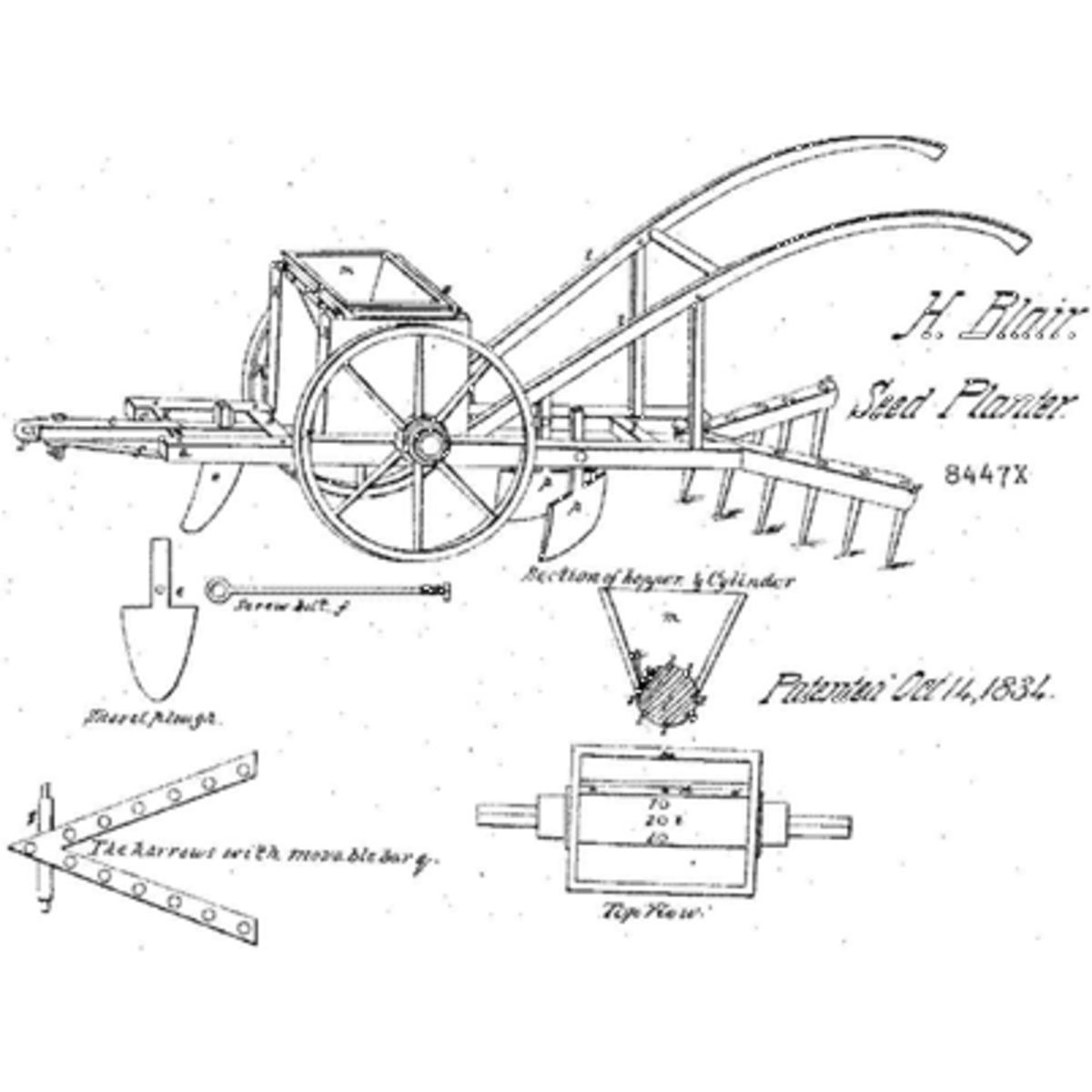 henry blair an inventor and farmer who was the second african Black People Inventors henry blair an inventor and farmer who was the second african american to hold a united states patent