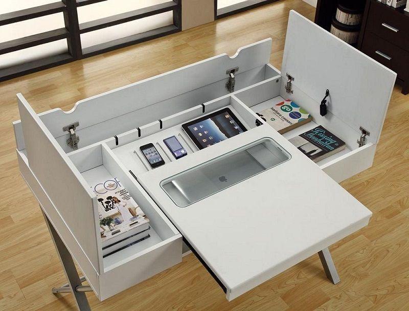 bureau haut de gamme avec chargement sans fil Hollow Core Connect
