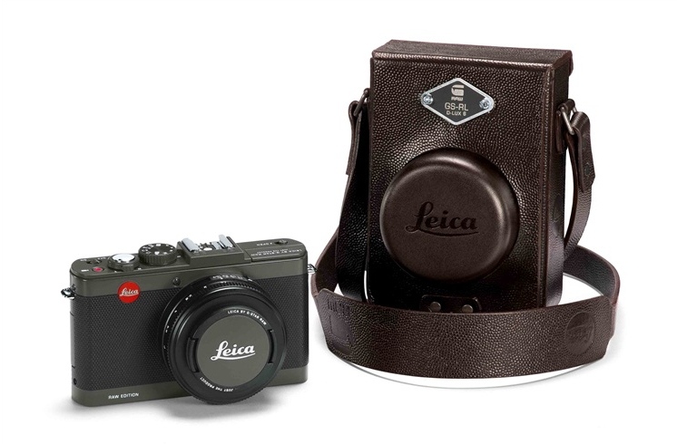 Joining the trend of mixing cameras with clothing brands, Leica has announced the new G-Star RAW edition, the D-Lux 6.  Deluxe is right, this stylish new camera is definitely one for the fashionistas out there with a slogan on the camera body and a hip brown leather case. Being on trend is something Leica has successfully pulled