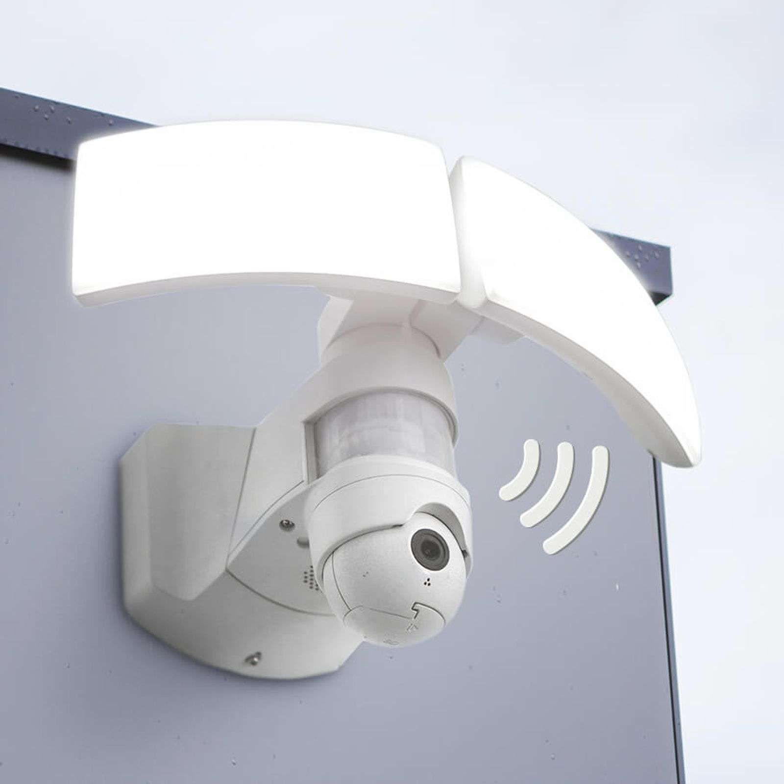 Secury Light Libra Led Aussenwandleuchte Mit Kamera In 2020 Led Bewegungsmelder Led Aussenwandleuchte