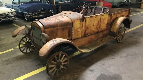 Patina Plus 1926 Ford Model T Pickup Http Barnfinds Com Patina Plus 1926 Ford Model T Pickup Model T Ford Models Abandoned Cars