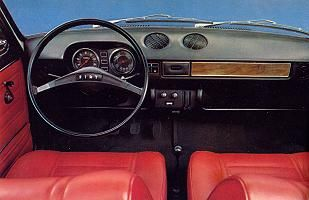 Fiat 128 Cockpit Fiat 128 Autos Automocion