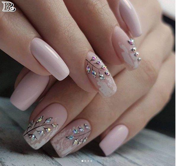 100 Winter Nail Designs 2018 | Diseños de uñas, Arte de uñas y Manicuras