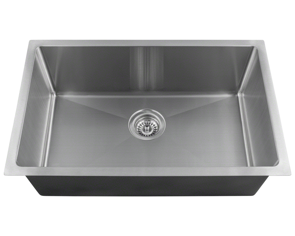 2920s Single Bowl 3 4 Radius Stainless Steel Sink Stainless
