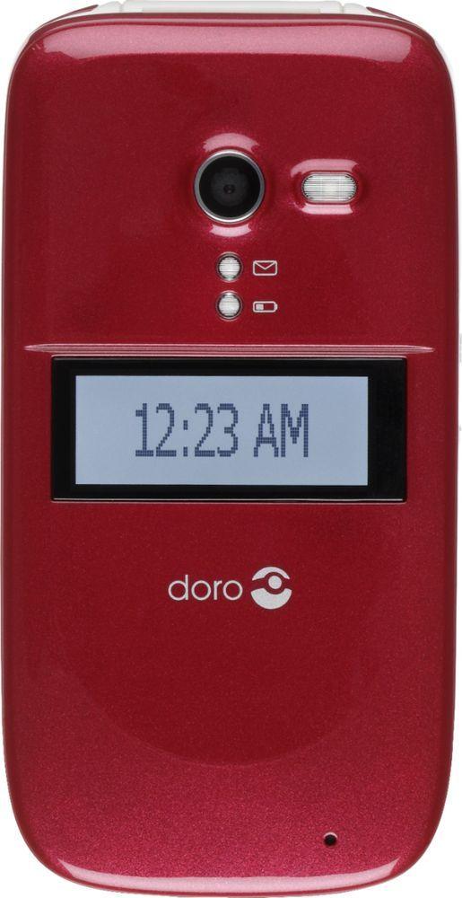 classic fit 0ebca 8f189 Consumer Cellular - Doro PhoneEasy 626 Prepaid Cell Phone - Burgundy ...