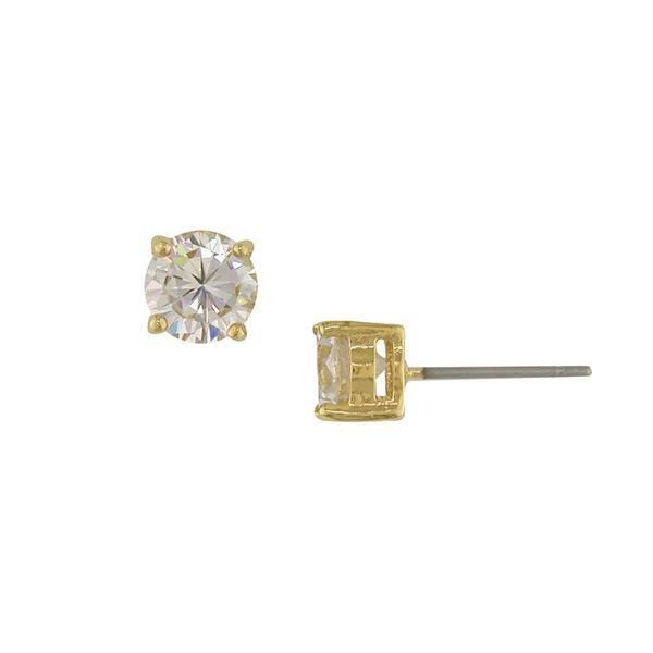 You can get these Amor Stud Earrings at a wholesale price, when you join our Affiliate Program. CLICK HERE Radiate your beautiful energy with these Amor Stud Earrings! Amor Stud Earrings Features: Materials: Gold plating over brass with white 7.25mm Cubic Zirconia stones Style: Stud earring with surgical steel earring post (hypoallergenic) Nickel free Lead free