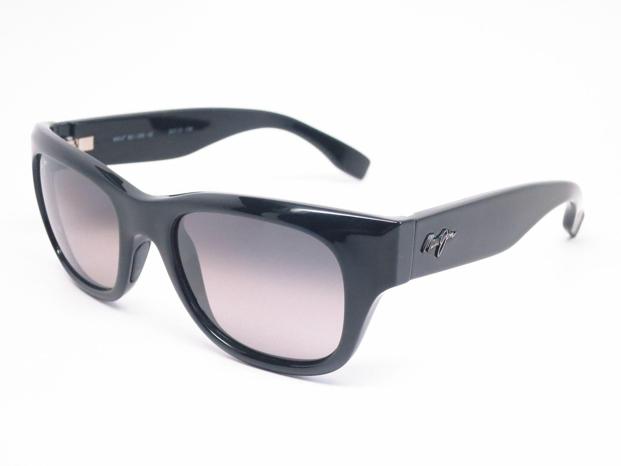 Maui jim kahoma mj gs28502 black polarized sunglasses