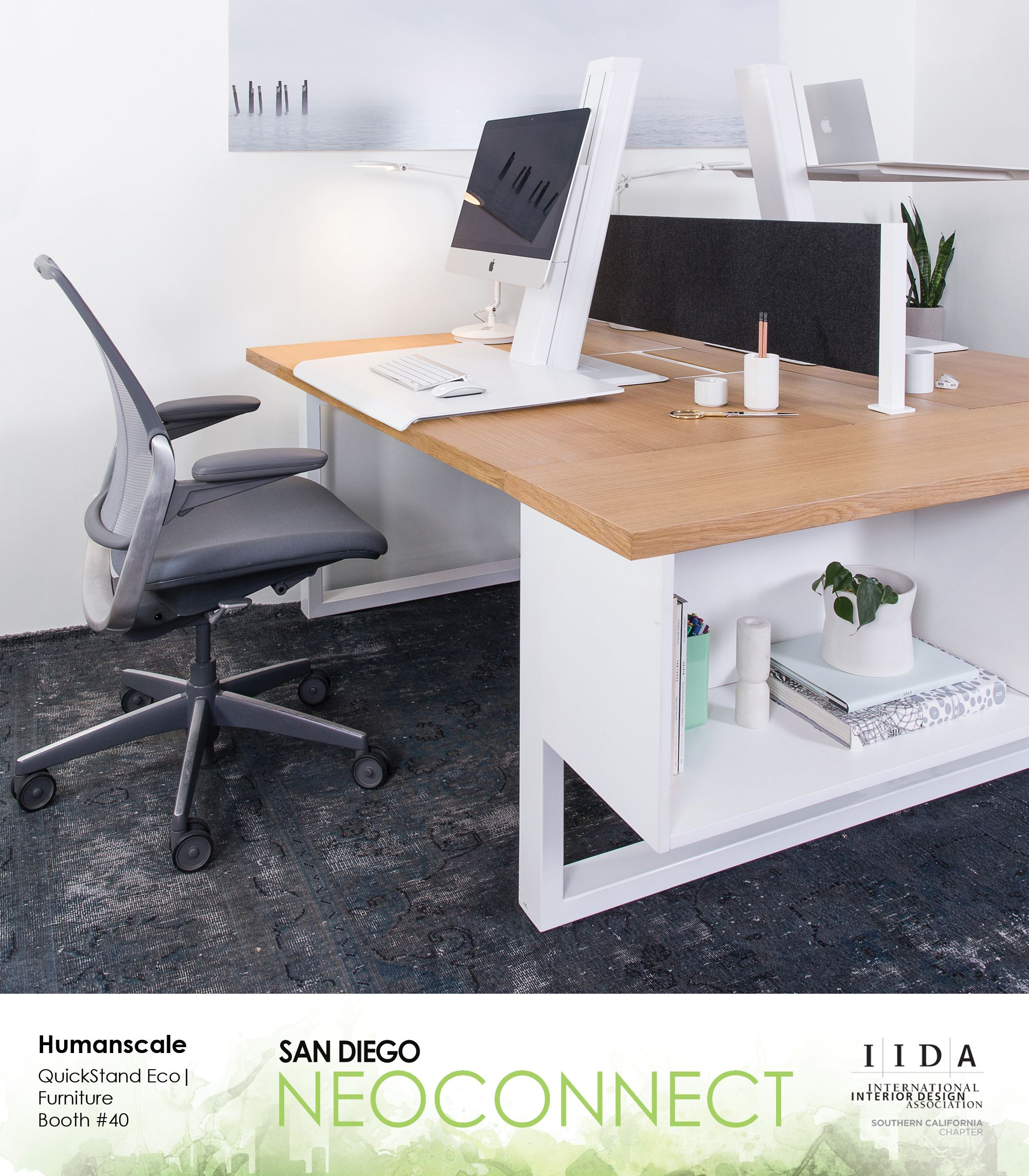 Humanscale Booth 40 QuickStand Eco Furniture