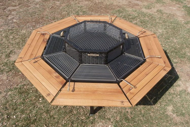 Modern Outdoor Accessories For A Perfect Summer Experience - Grill table fire pit all in one