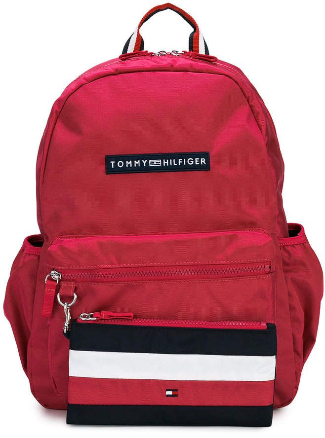 Tommy Hilfiger Junior Two Piece Backpack And Pouch Set Bolsos In