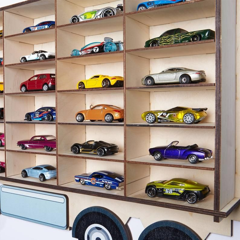 Toy Car Storage Hot Wheels, Toy Car Storage, Truck Car