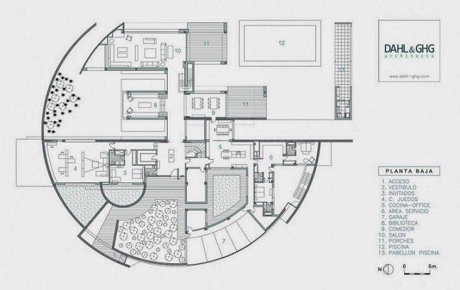 Planos De Bibliotecas Modernas Desig House Pinterest