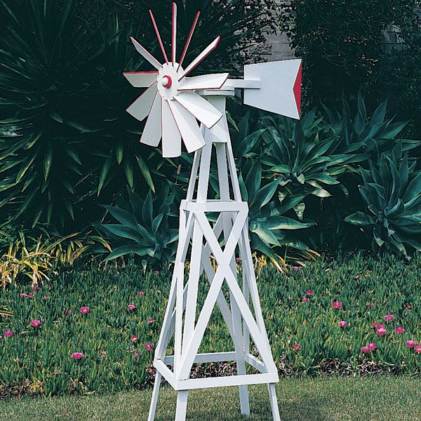 how to build wooden windmills