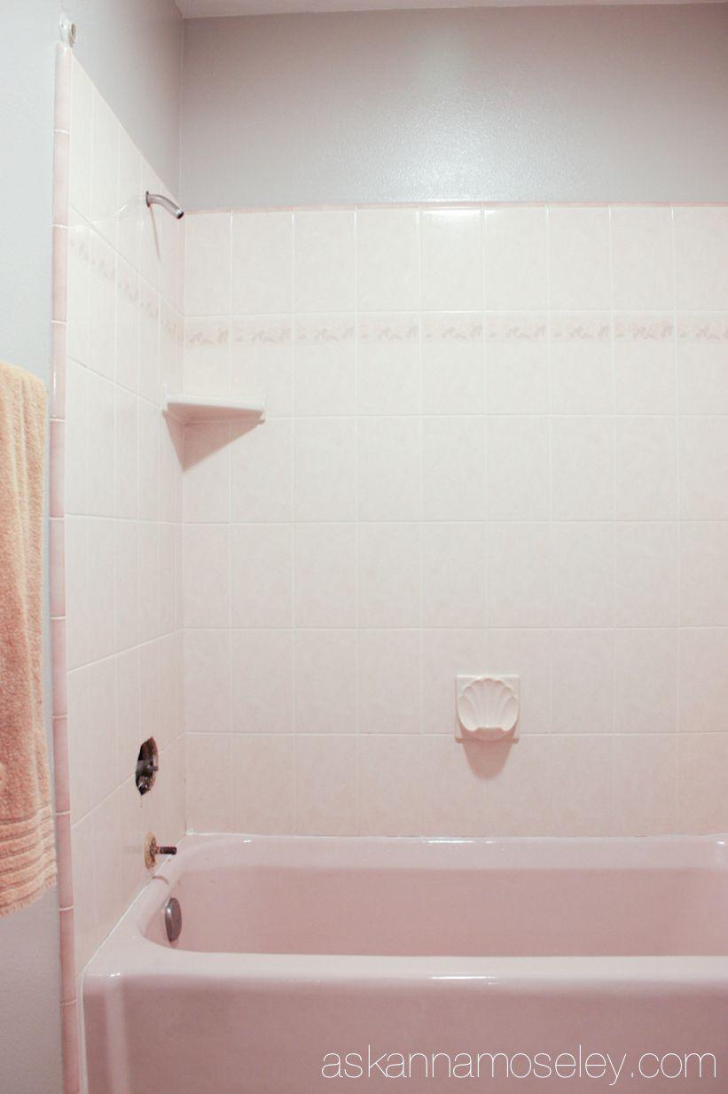 How to Update an Ugly Bathtub | Bathtubs, Bath and Small bathroom