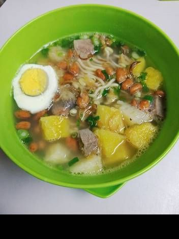 Resep Sup Ubi Petea Oleh Pochiel S Cooking Resep Memasak Resep Sup Rebusan Daging