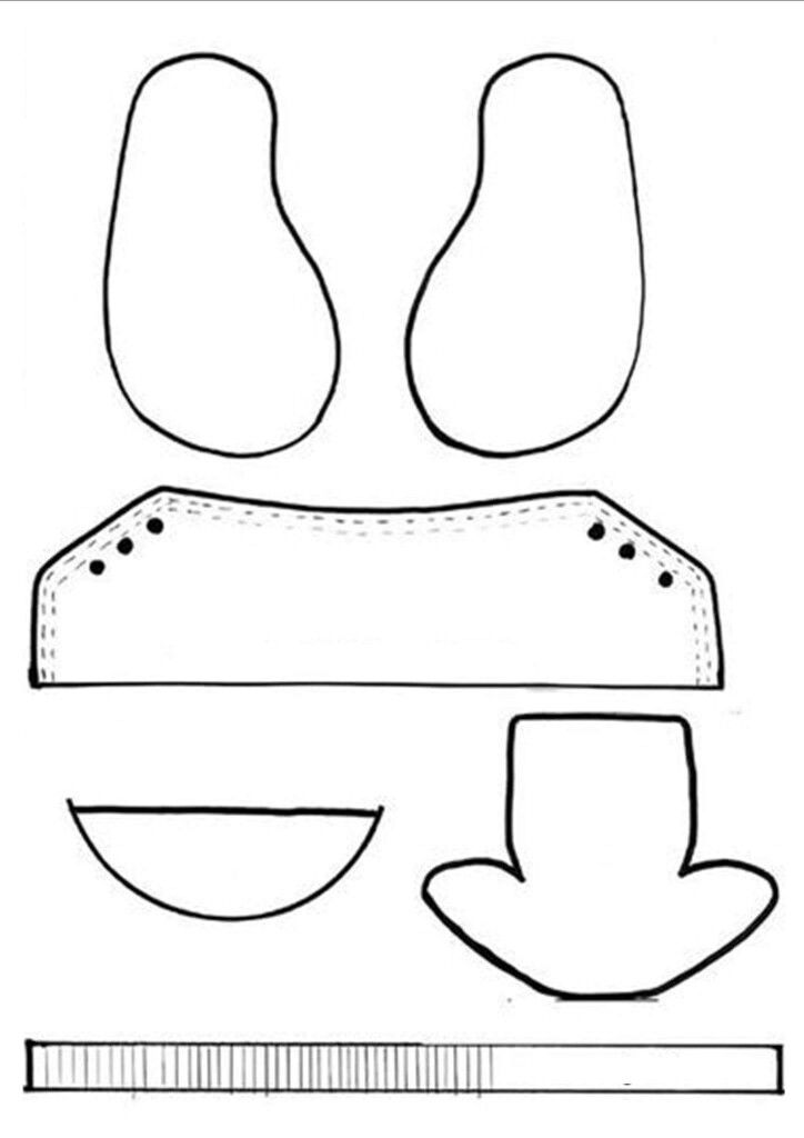 Pin de MB Art en moldes | Pinterest | Baby shoes pattern, Doll shoe ...