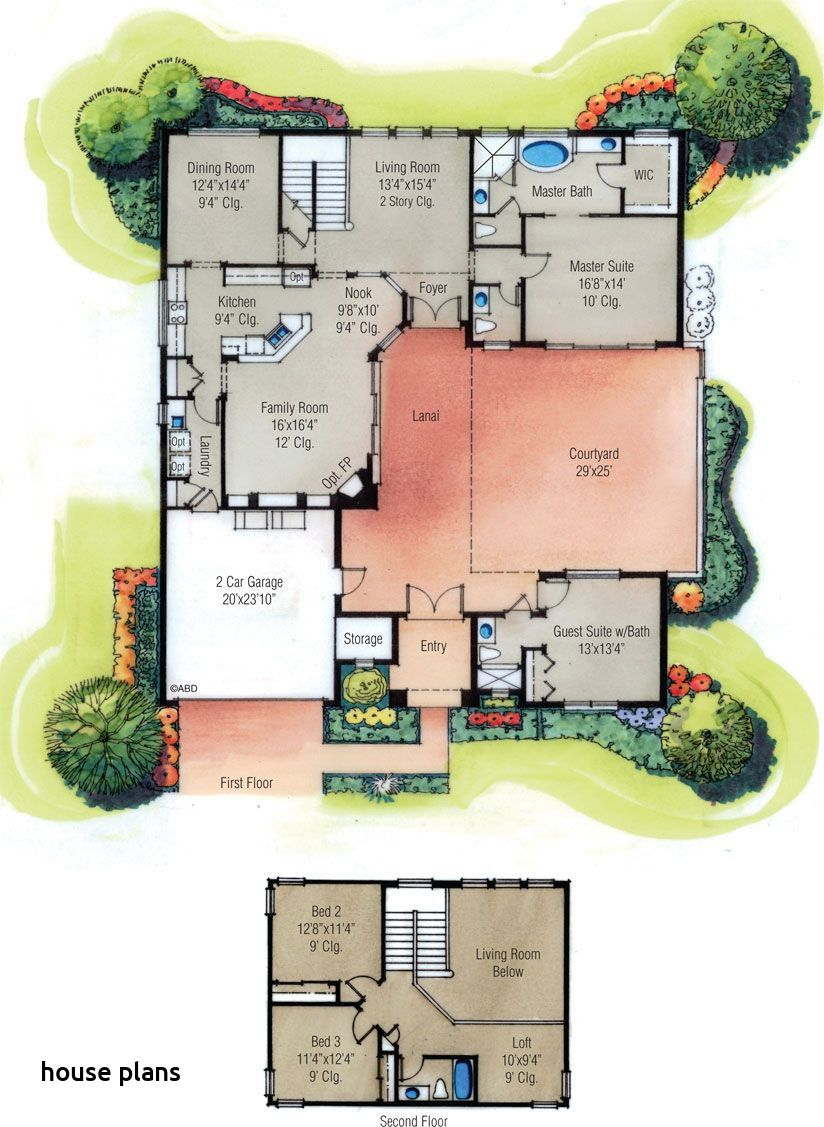 Pin On House Plans One Story