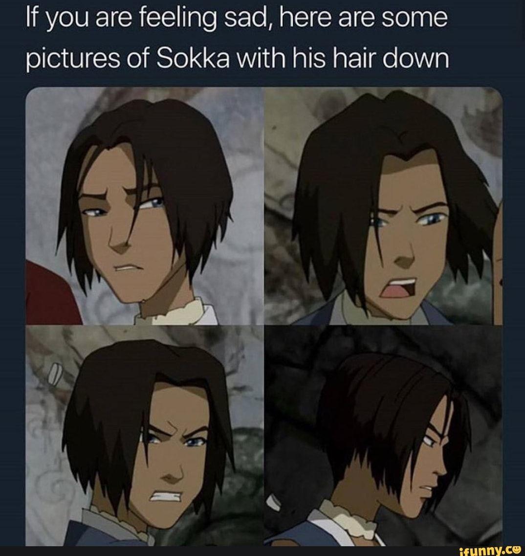 Sokka Sokka With Hus Hair Down In 2020 The Last Avatar Avatar Avatar The Last Airbender Art