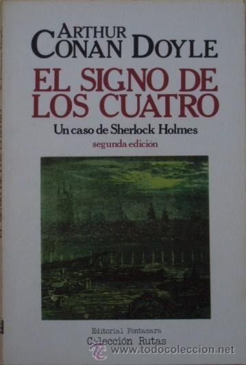 El Signo De Los Cuatro De Arthur Conan Doyle Libros De Terror Libros Libros Recomendados