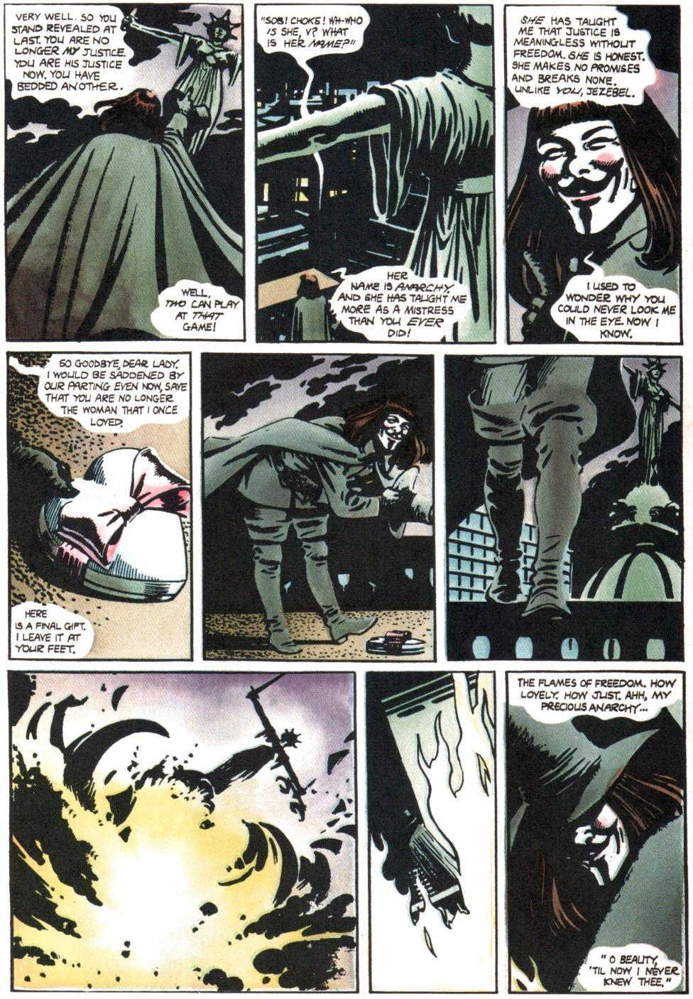 Pin By Miraggi Inversi On Artisticita V For Vendetta Graphic Novel V For Vendetta Comic