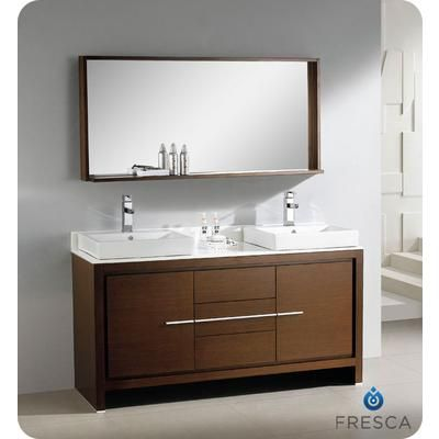 Bathroom Vanities Product | ... Modern Double Sink ...