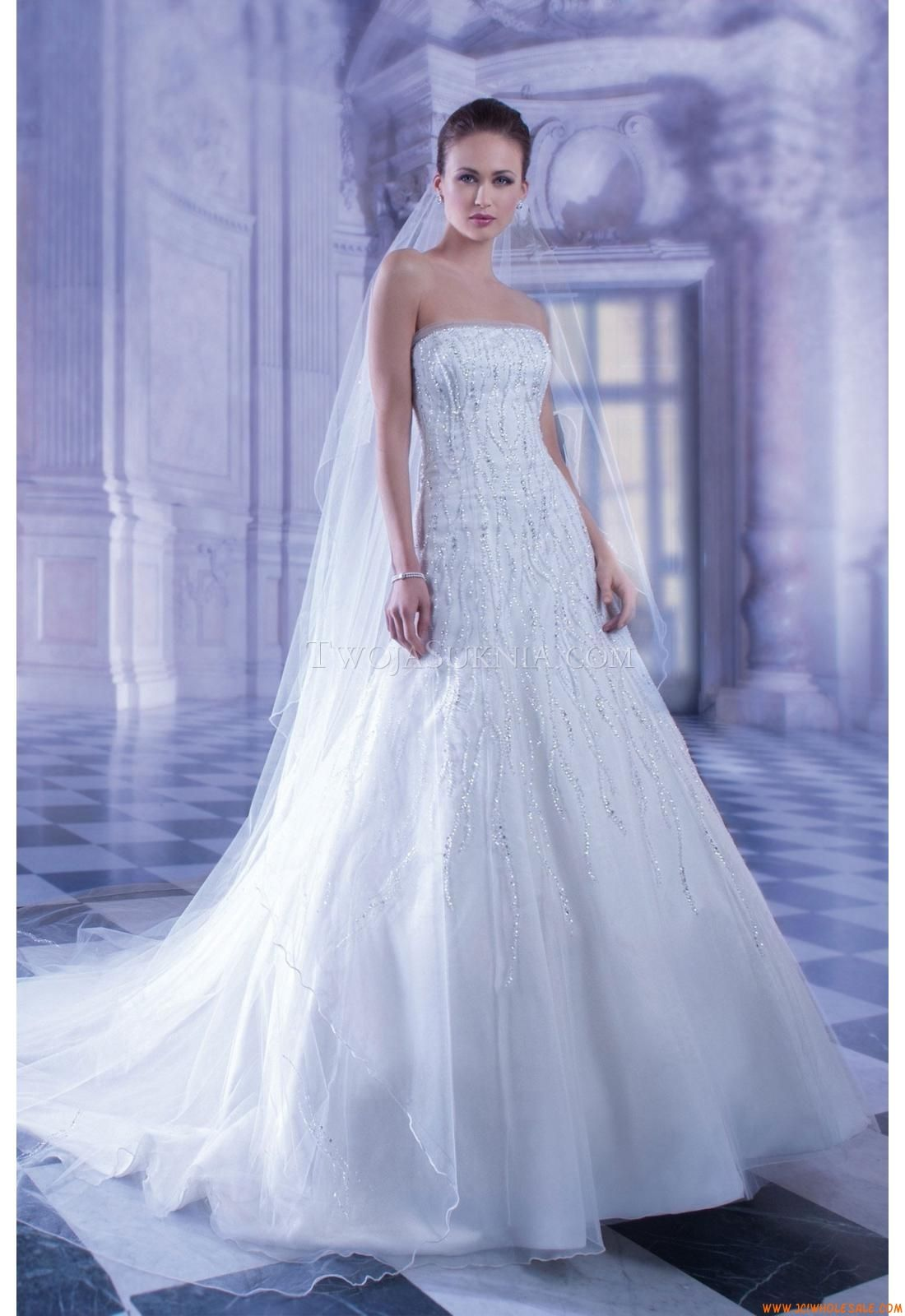 Robe de mariée demetrios ilissa roe de mariage