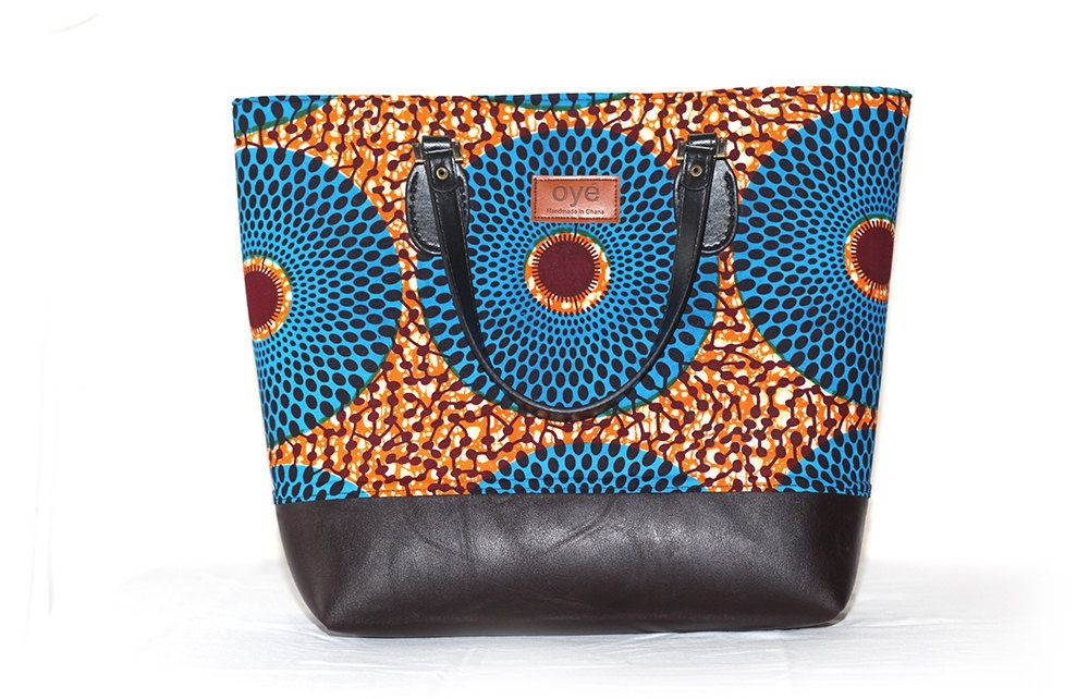 7010d72186a Oye African Tote Bag by oyeGH on Etsy   Bags   Bags, Printed bags ...