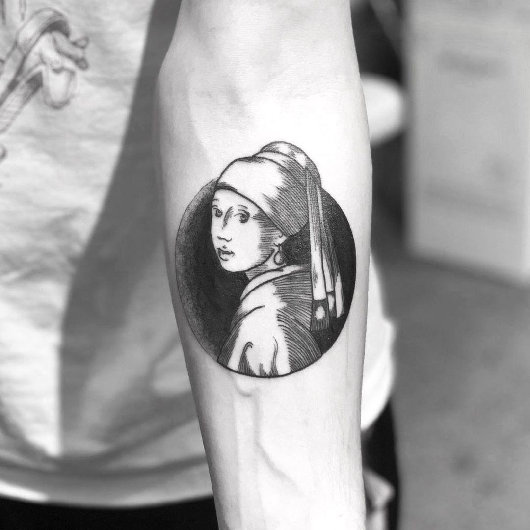 Puede soportar etc. Derretido  La joven de la perla, #Johannes #Vermeer | Tatuajes, Disenos de unas, Perlas